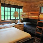 The Bunk Room has 2 twins and a double bed...great for a couple or small group.