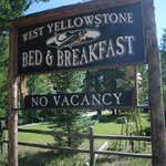 West Yellowstone B & B resmi