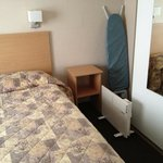 Provided facilities - Heater, ironing board and safe!