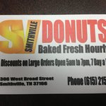 Smithville donuts