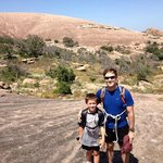 Enchanted Rock - Returning from Rock Climbing Trip with Rock About Climbing Adventures
