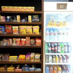 Hungry? Grab a snack from the Suite Shop