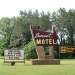 This is the only motel in town.