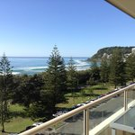 July sunshine at Burleigh