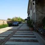 Inner yard/Parking - Locanda Del Carrobbio, Sep 13-15 2012