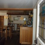 Just inside the front door at The Horse & Jockey, Manton, Leicestershire