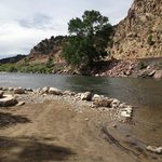 River access at Bighorn