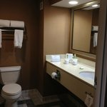 Economy size bathroom