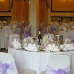 Pentland Suite, before our wedding reception