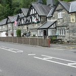 The coaching inn from the road outside