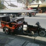 There's always a Tuk Tuk waiting