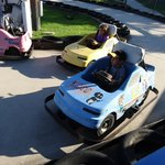 The little kids got to drive too!!