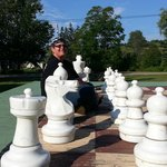 Lifesize chess