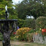 The fountain in the Walled Garden
