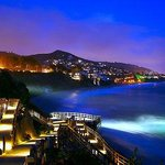Laguna Beach at night