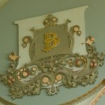 Cartouche (one of 8) honors the Bennett Family