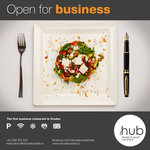 The HUB - Always in good company - First business restaurant in Oradea
