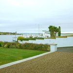 View towards Strangford Lough Yacht Club
