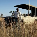 Game drives at Singita Mobile Tented Camp