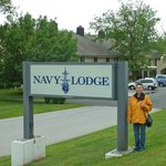 Navy Lodge Staten Island Entrance
