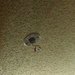 Used to be smoke detector nothing but wires