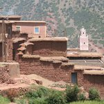 We cross many berbers villages!