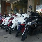 Motorbikes for rent 200Baht/day