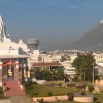 Vue from hotel room to Shiva tempel and Monsoon Palace