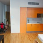 Apartment - kitchenette (fridge in cupboard)