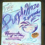 hats off to Julie Jacobsen and her Lavender Margaritas!