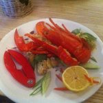 Fresh lobster specials dish, so tasty!!