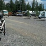 Scenic View of Your Gravel Filled Parking Lot Luxary RV Site