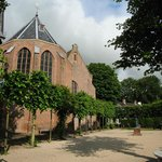 Broek in Waterland´s church: in front of the B&B