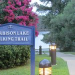 Great hotel right on the walking trail of Lake Harbison!