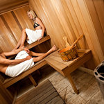 Treat yourself to a traditional in-house sauna