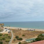 Vista praia do apartamento