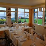 Dining in the restaurant - well worth a visit