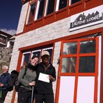 rongpuk and tenzing at Alpine Lodge