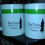 Big Pines mugs that I bought for me & my partner.