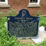 Yount's Mill historical sign