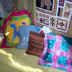 Hand-painted Tribal Textiles.