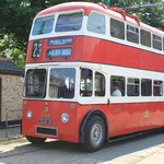 Trolleybus at the East Anglia Transport Museum