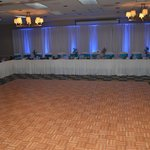 Reception head table.