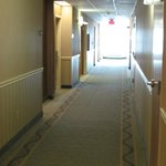 2nd floor hallway outside king room/suite #215