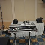 Reception DJ area
