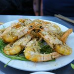 I favourite dish , Salt & Pepper Fried Prawn with drill herbs ...
