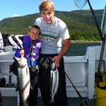 Salmon success with HiTime Charters