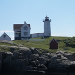 Nubble light is right up the street