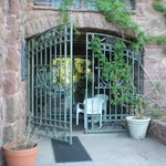 Entrance to Carriage House room