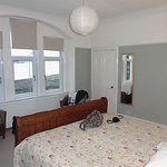 Double room with a stunning view out over Holy Loch.